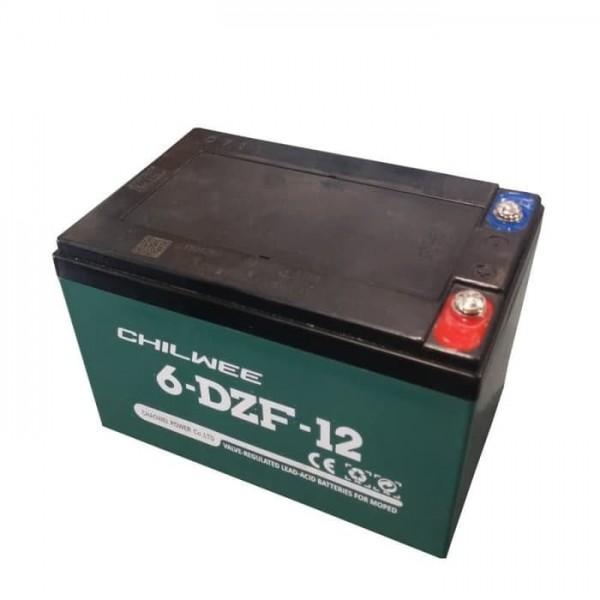 Аккумулятор 12V 6-DZM-12 GEL тяговый CHILWEE 12Ah
